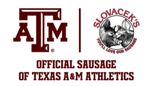 Slovacek's Official Sausage of Texas A&M Athletics